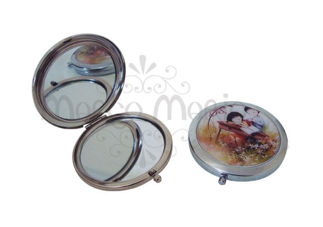 Romantic Couple Mini mirror,marco mario souvenir, wedding souvenirs, souvenir pernikahan