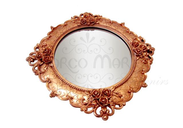 Roses gold tray,marco mario souvenir, wedding souvenirs, souvenir pernikahan