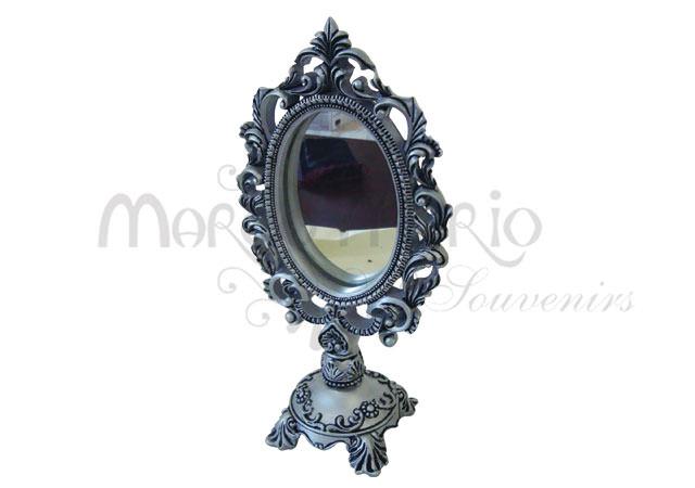 Standing mirror chrome,marco mario souvenir, wedding souvenirs, souvenir pernikahan