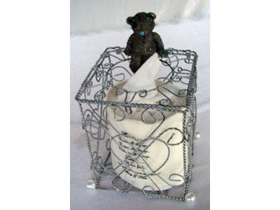 Silver Wrought Iron Tissue Box,marco mario souvenir, wedding souvenirs, souvenir pernikahan