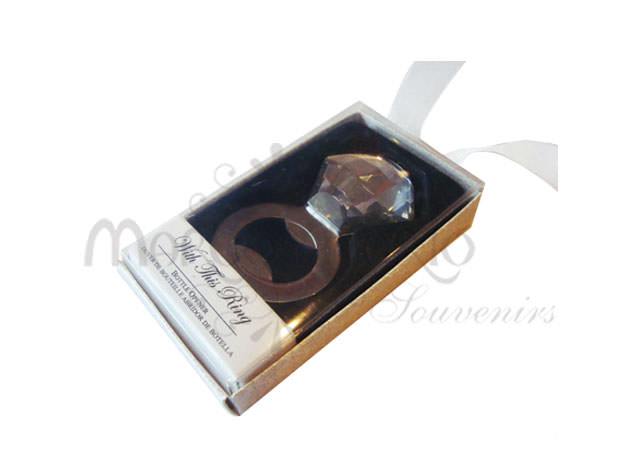 Diamond ring bottle opener,marco mario souvenir, wedding souvenirs, souvenir pernikahan