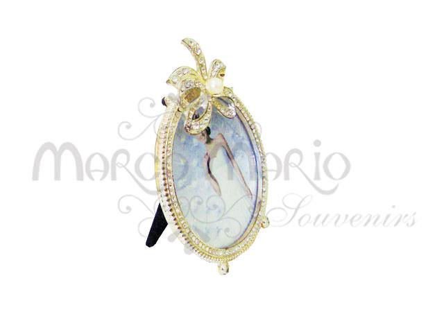 ribbon silver frame round,marco mario souvenir, wedding souvenirs, souvenir pernikahan