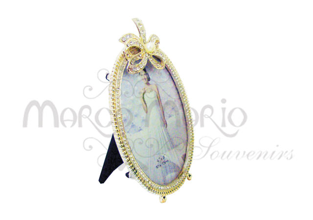 Ribbon silver frame oval,marco mario souvenir, wedding souvenirs, souvenir pernikahan