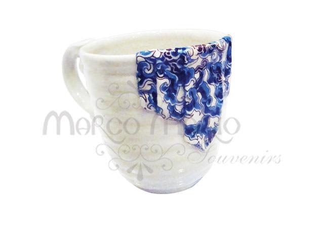 ceramic batik mug,marco mario souvenir, wedding souvenirs, souvenir pernikahan