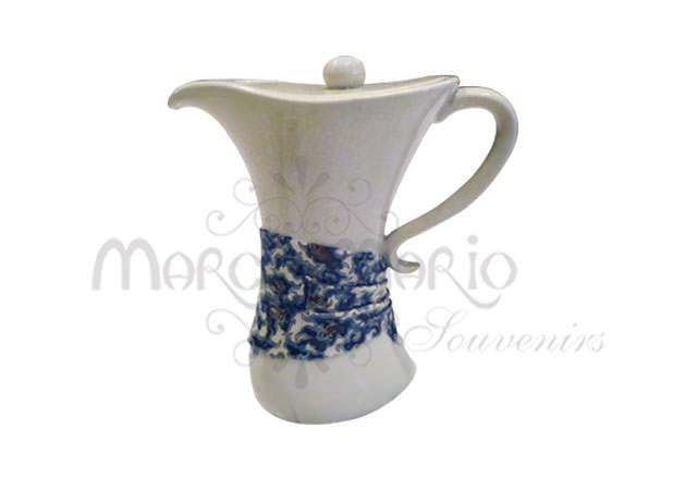 ceramic batik pitcher,marco mario souvenir, wedding souvenirs, souvenir pernikahan