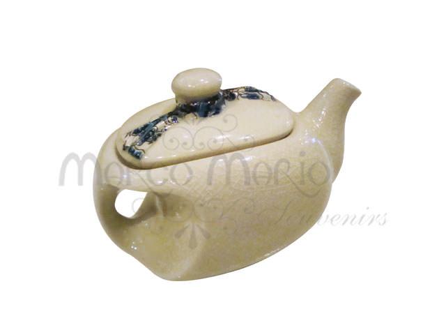 ceramic batik mini teapot,marco mario souvenir, wedding souvenirs, souvenir pernikahan