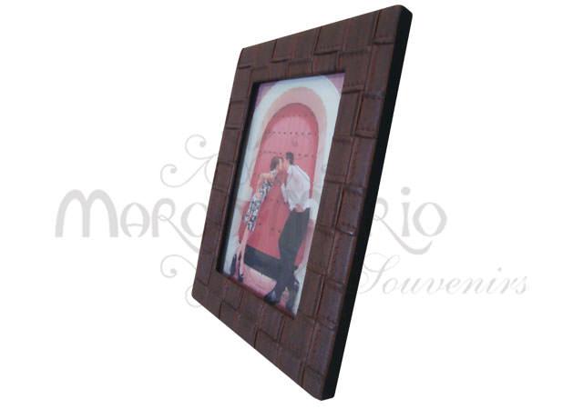 Square texture leather frame,marco mario souvenir, wedding souvenirs, souvenir pernikahan surabaya indonesia, wedding favors, souvenir ideas, royal wedding souvenirs