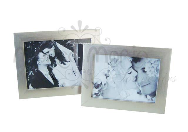 silverish minimalist frame,marco mario souvenir, wedding souvenirs, souvenir pernikahan