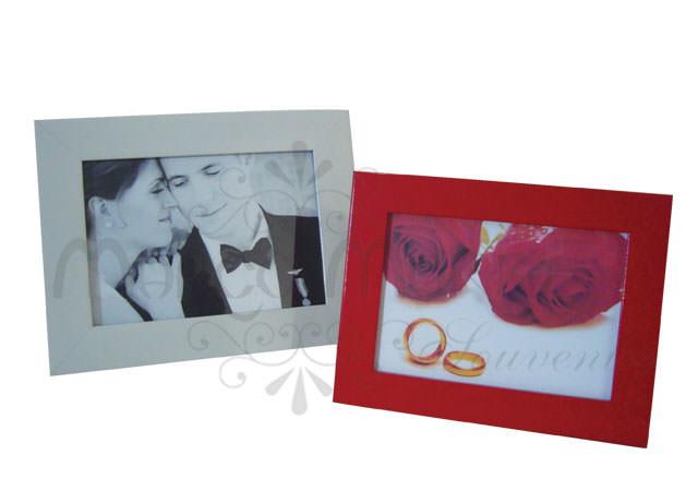 Red and white minimalist frame,marco mario souvenir, wedding souvenirs, souvenir pernikahan