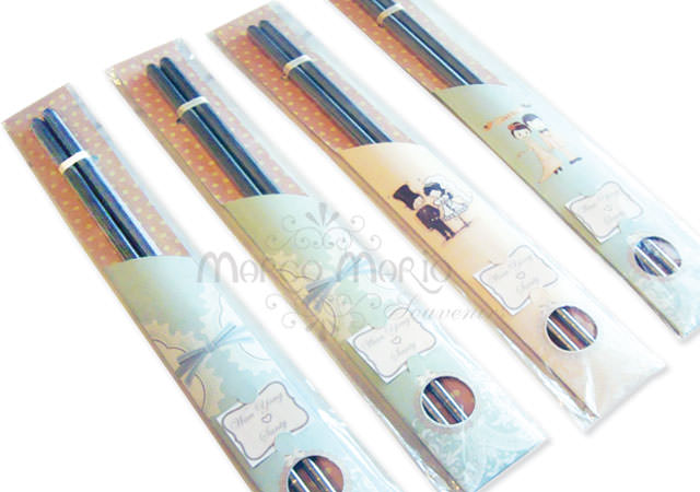 lovely pastel chopstick,marco mario souvenir, wedding souvenirs, souvenir pernikahan surabaya indonesia, wedding favors, souvenir ideas, royal wedding souvenirs