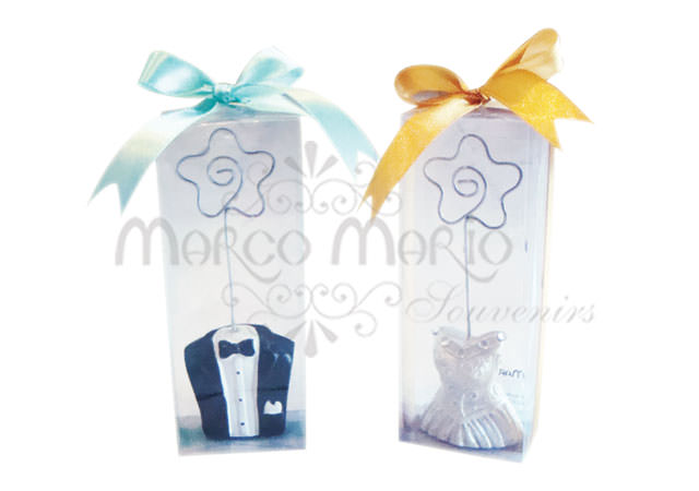 Tuxedo and Gown card holder,marco mario souvenir, wedding souvenirs, souvenir pernikahan