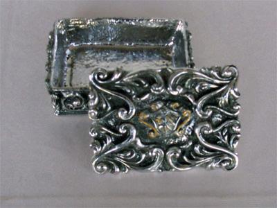 Silver Treasure Box,marco mario souvenir, wedding souvenirs, souvenir pernikahan