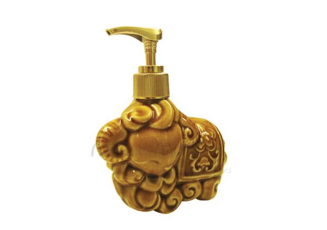 cute goat soap dispenser gold,marco mario souvenir, wedding souvenirs, souvenir pernikahan surabaya indonesia, wedding favors, souvenir ideas, royal wedding souvenirs