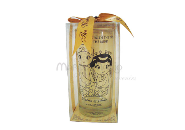 traditional wedding clear glass,marco mario souvenir, wedding souvenirs, souvenir pernikahan