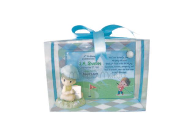 Cute Golf Frame,marco mario souvenir, wedding souvenirs, souvenir pernikahan