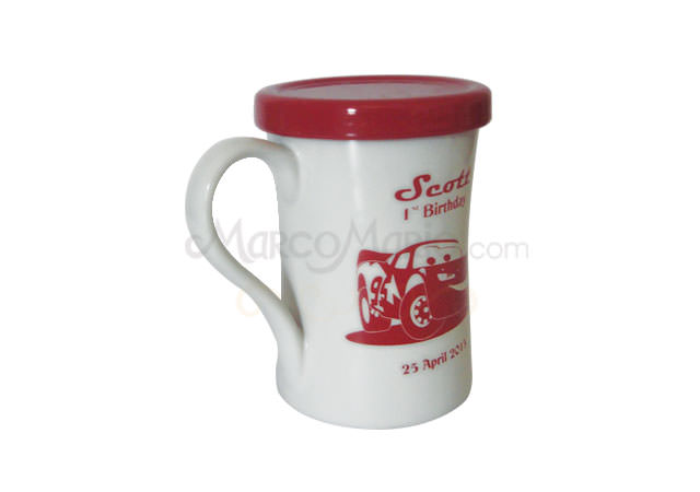 red and white big mug,marco mario souvenir, wedding souvenirs, souvenir pernikahan surabaya indonesia, wedding favors, souvenir ideas, royal wedding souvenirs