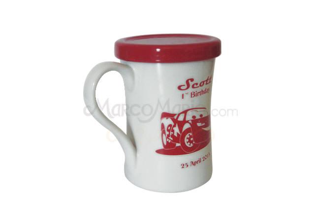 red and white big mug,marco mario souvenir, wedding souvenirs, souvenir pernikahan surabaya indonesia, wedding favors, souvenir ideas, royal wedding souvenirs