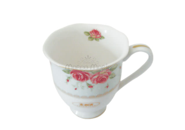 Beautiful flower ceramic mug,marco mario souvenir, wedding souvenirs, souvenir pernikahan surabaya indonesia, wedding favors, souvenir ideas, royal wedding souvenirs