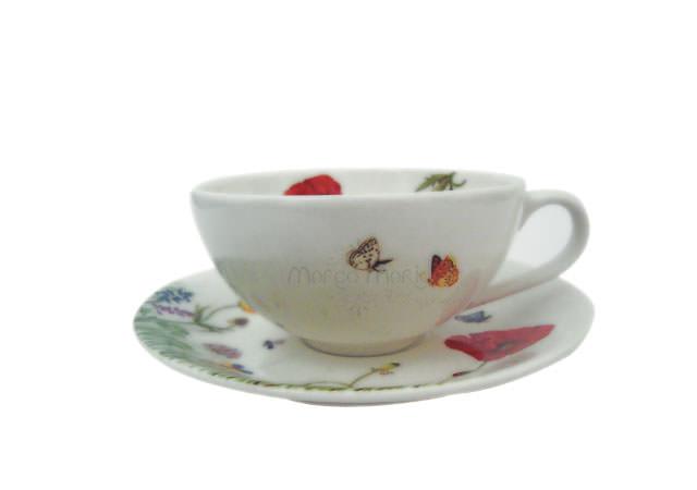 butterfly and flower in a teacup,marco mario souvenir, wedding souvenirs, souvenir pernikahan surabaya indonesia, wedding favors, souvenir ideas, royal wedding souvenirs