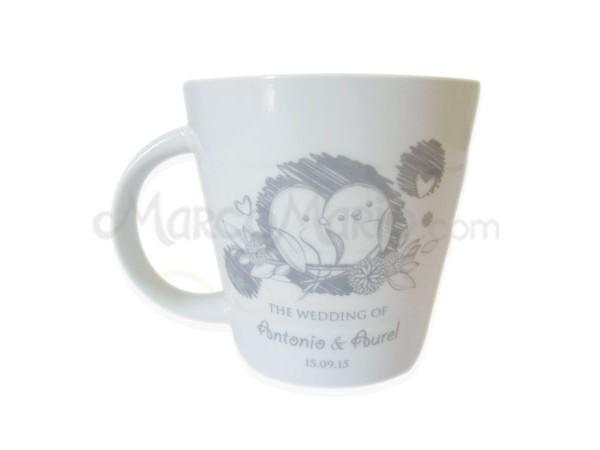 Stripe Mug,marco mario souvenir, wedding souvenirs, souvenir pernikahan